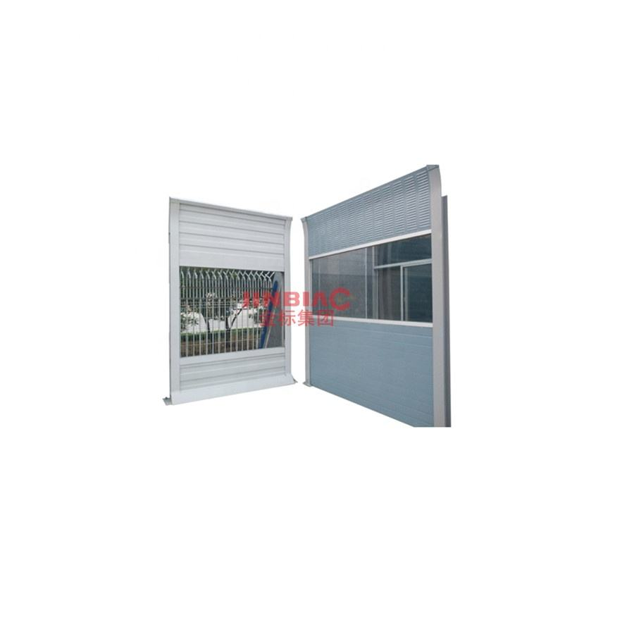 Highway railway Aluminum PC acoustic noise barrier panel/sound barrier fence