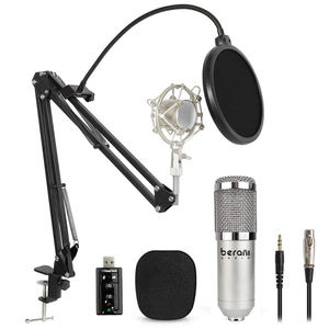 Well Priced bluetooth condenser microphone blue yet blackout