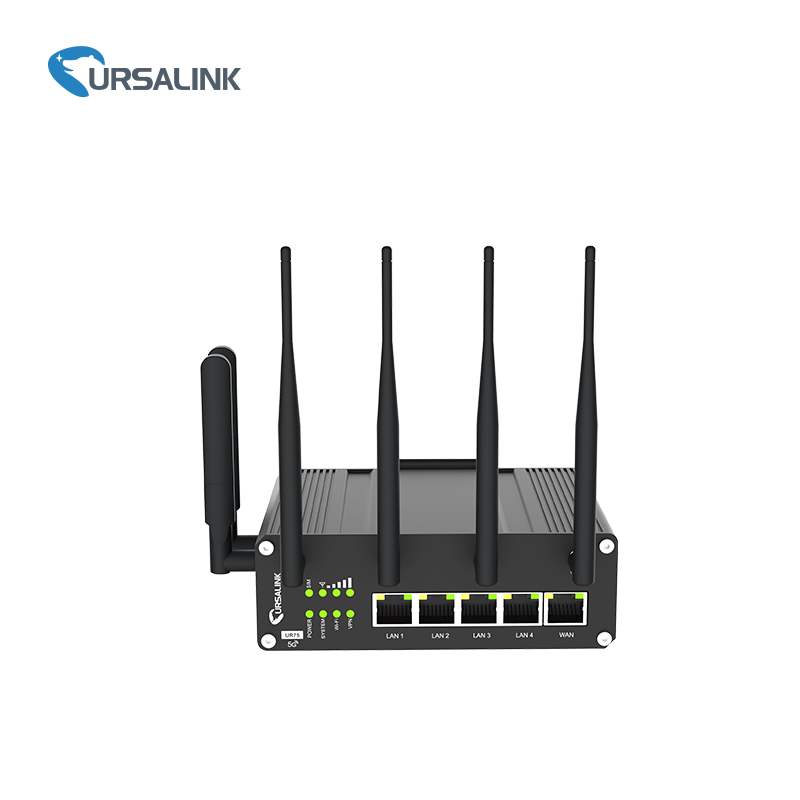 UR75 Industrial Cellular Router with Digital IO for SMS Remote Control Access Configure Welcome OEM