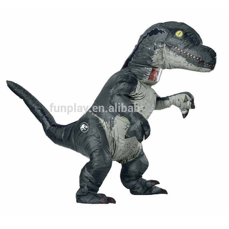Funny Professional T REX inflatable dinosaur costume for party jurassic world inflatable dinosaur costume