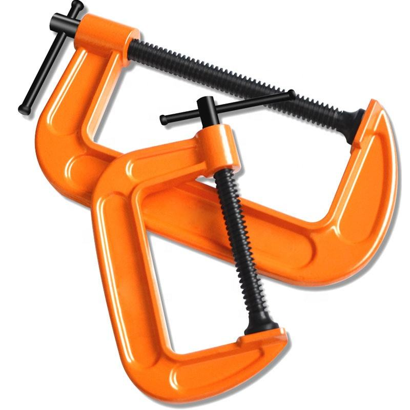 Woodworking Tools Heavy Duty Ductile Cast Iron G Clamp C Clamp