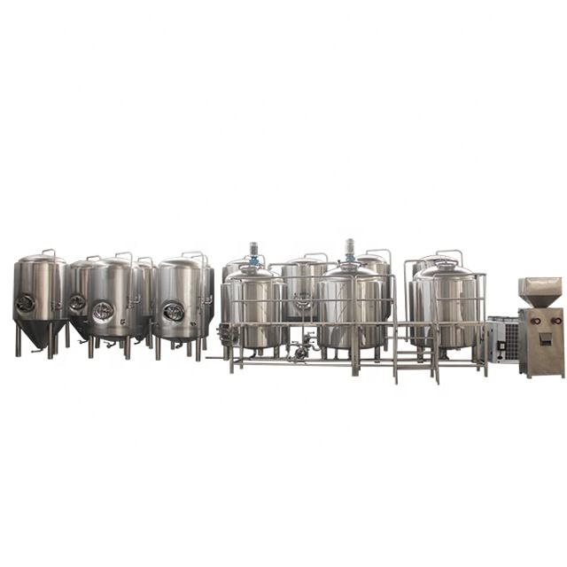 Stainless Steel Brewing Vessel Conical Bottom Fermentation Tank Fermenter 500l Bright Beer Tank