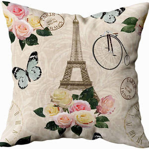 Comfort customizable home/office decor cushion pillow cover