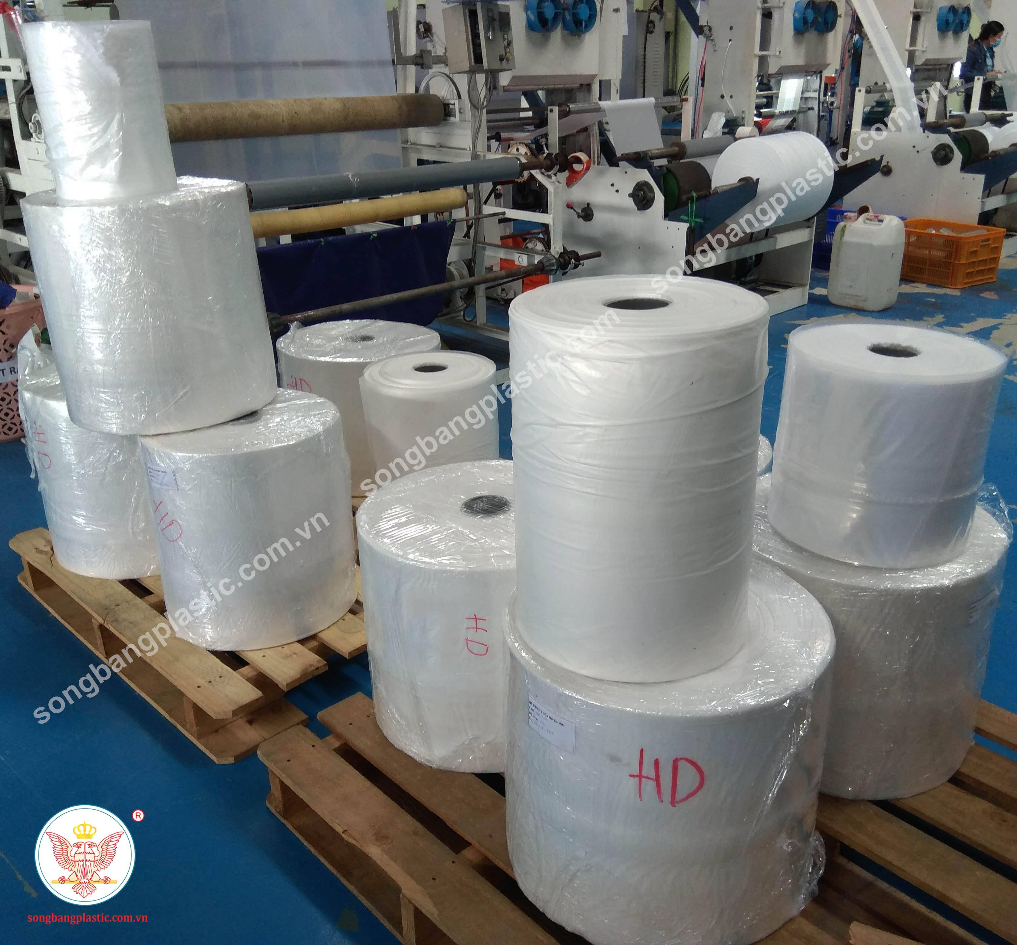 PE stretch film jumbo roll film for wrap