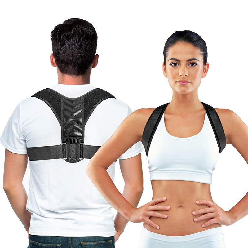 Wholesale Upper Back Support Correction Band Clavicle Support Back Straightener Shoulder Brace Posture Corrector For Men Women