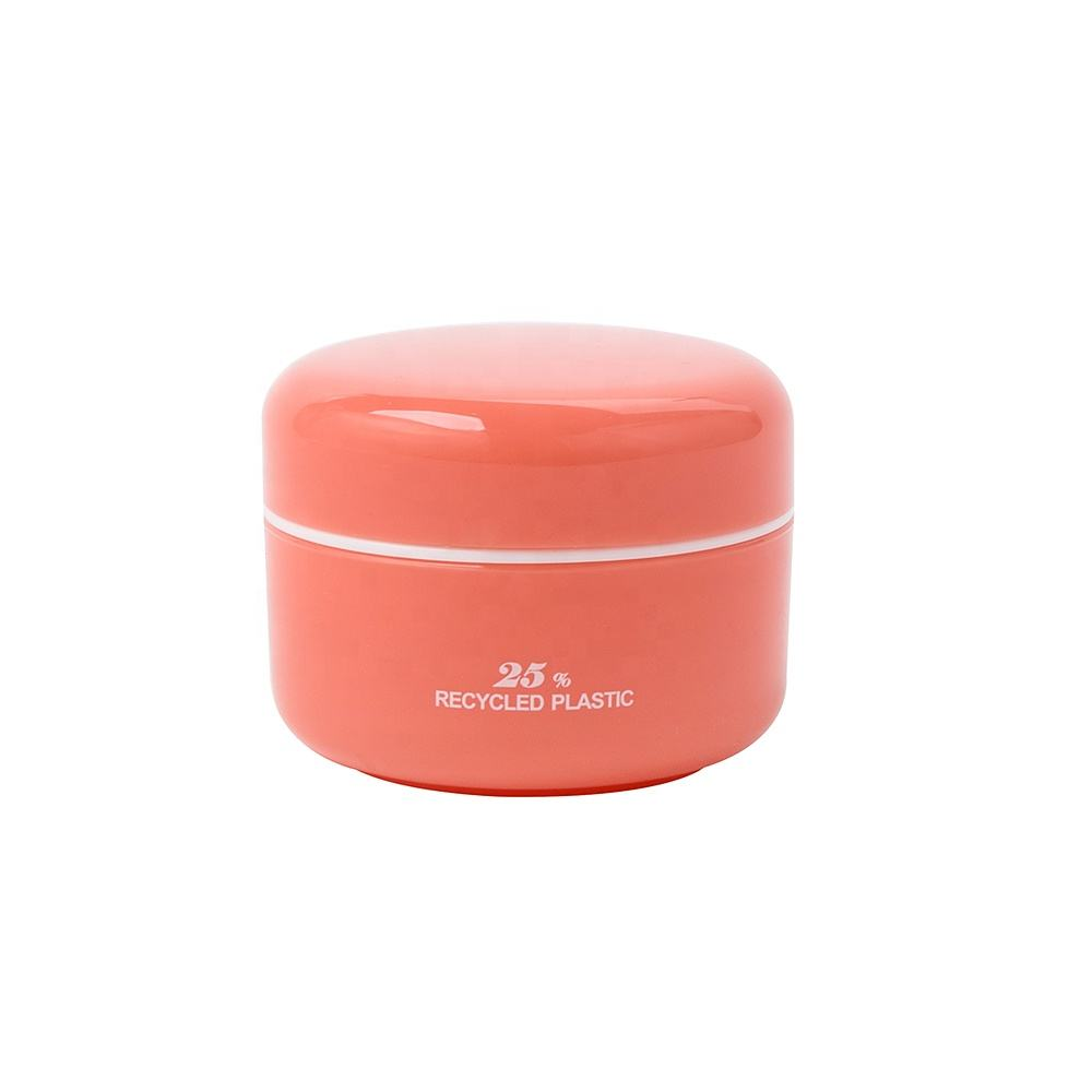 Hot Sale 100% PCR Recycling Plastic Cosmetic Jar Eco-friendly Cosmetic Containers High Quality 10g PCR Cosmetic Jar