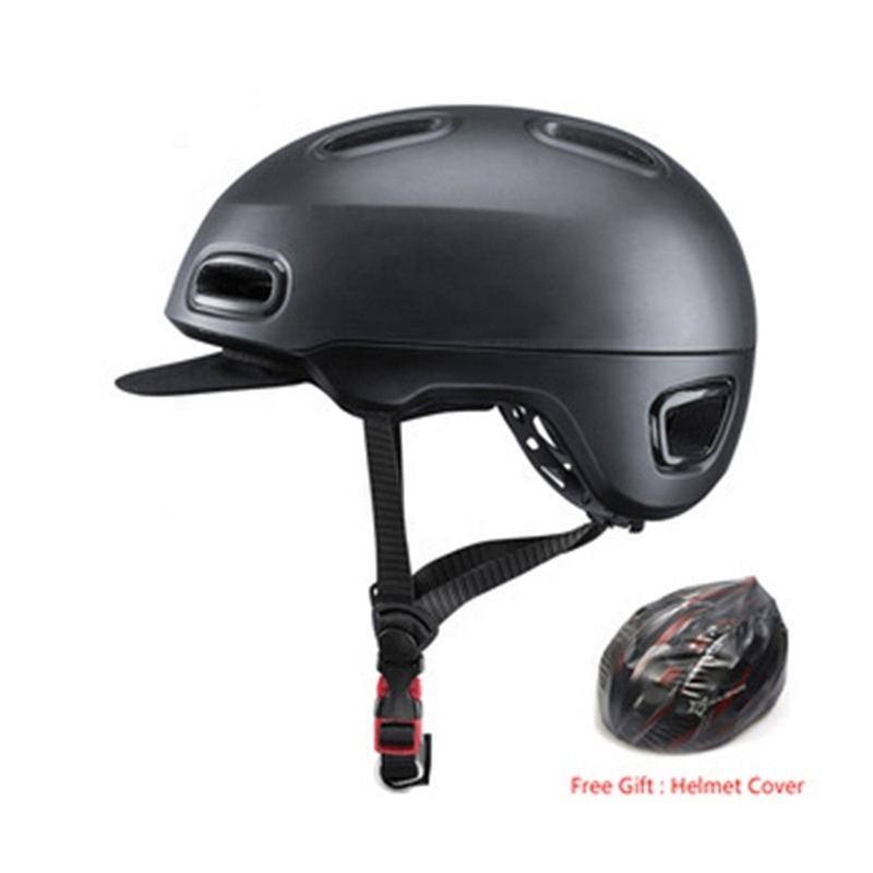OEM & ODM Bike Helmet Breathable EPS Integrally-molded Bicycle Unisex Shockproof City Helmet Adjustable Cycling helmets