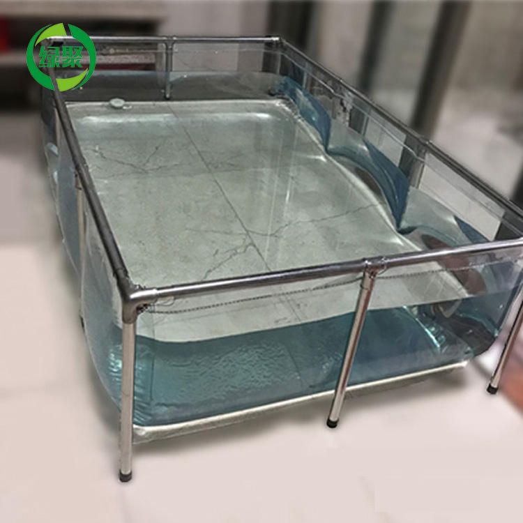 480L 120*80*50cm Froid Aquarium Décor À La Maison Unique Transparent Aquarium