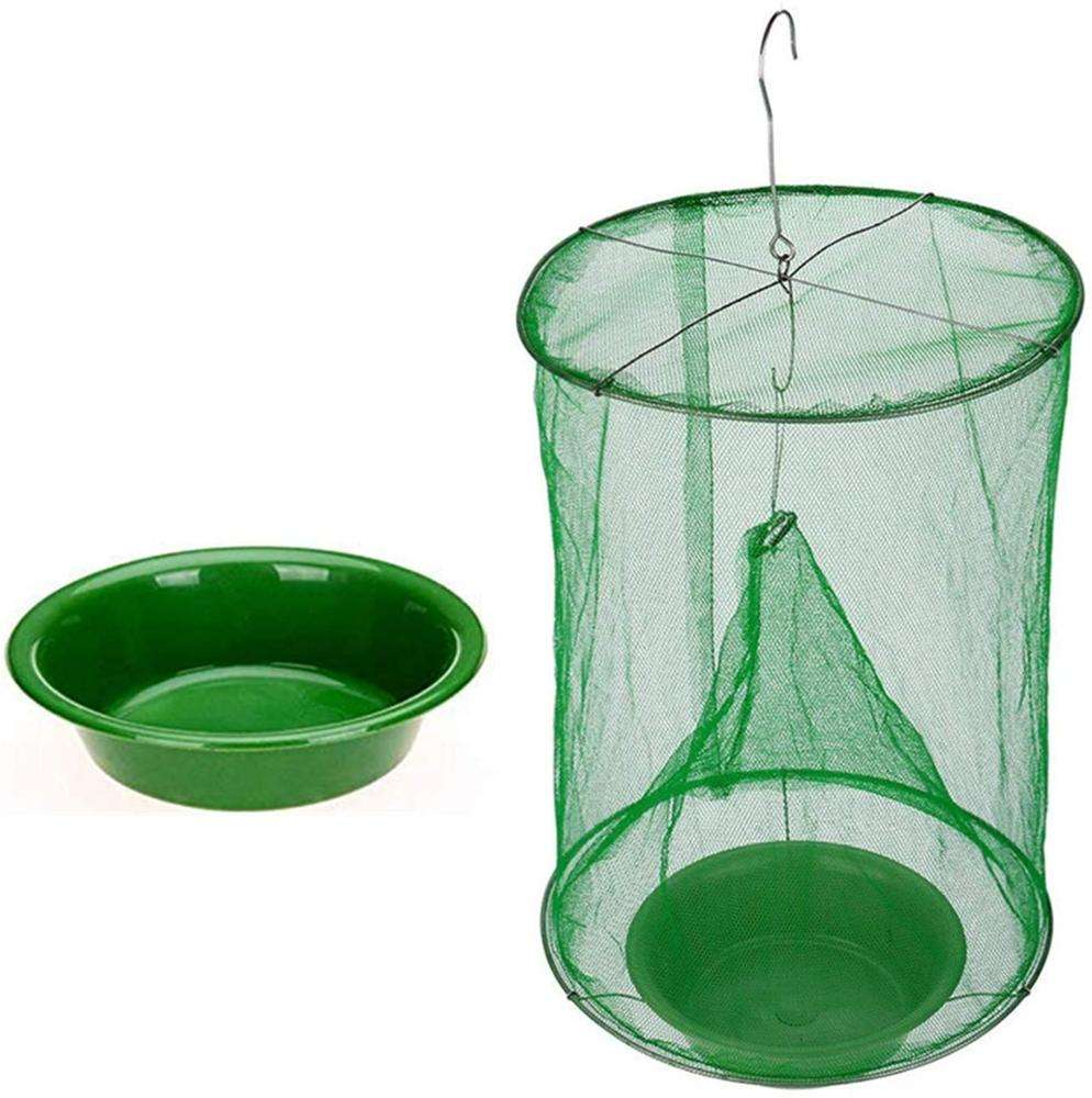 Foldable Fly Mesh Net Hanging Trap Catcher Killer Insect Bug Fly Catcher