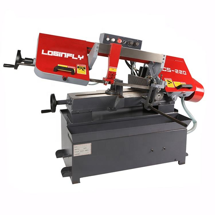 Steel Rod Cutting Band Saw Machine Metal Bandsaw