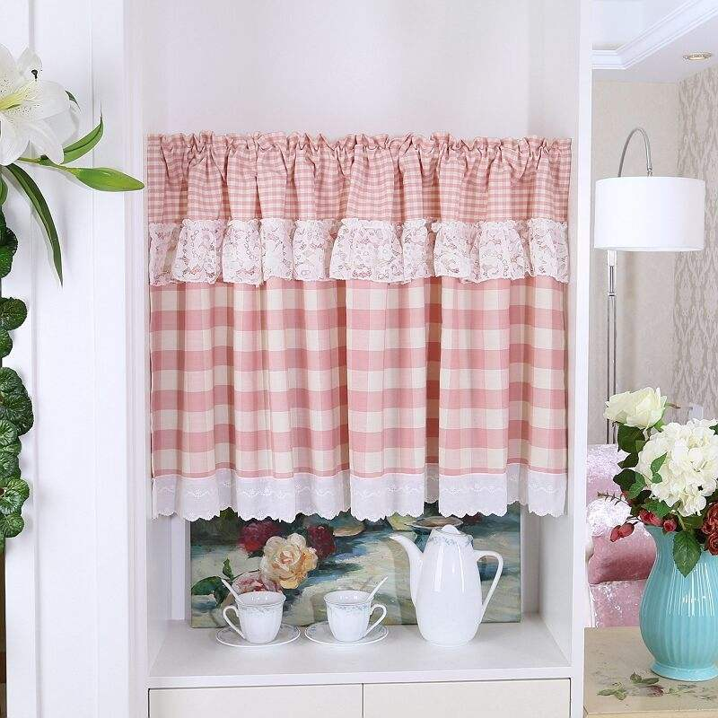 China supplier small kitchen window curtain,wholesale kitchen curtain, luxury kitchen curtain