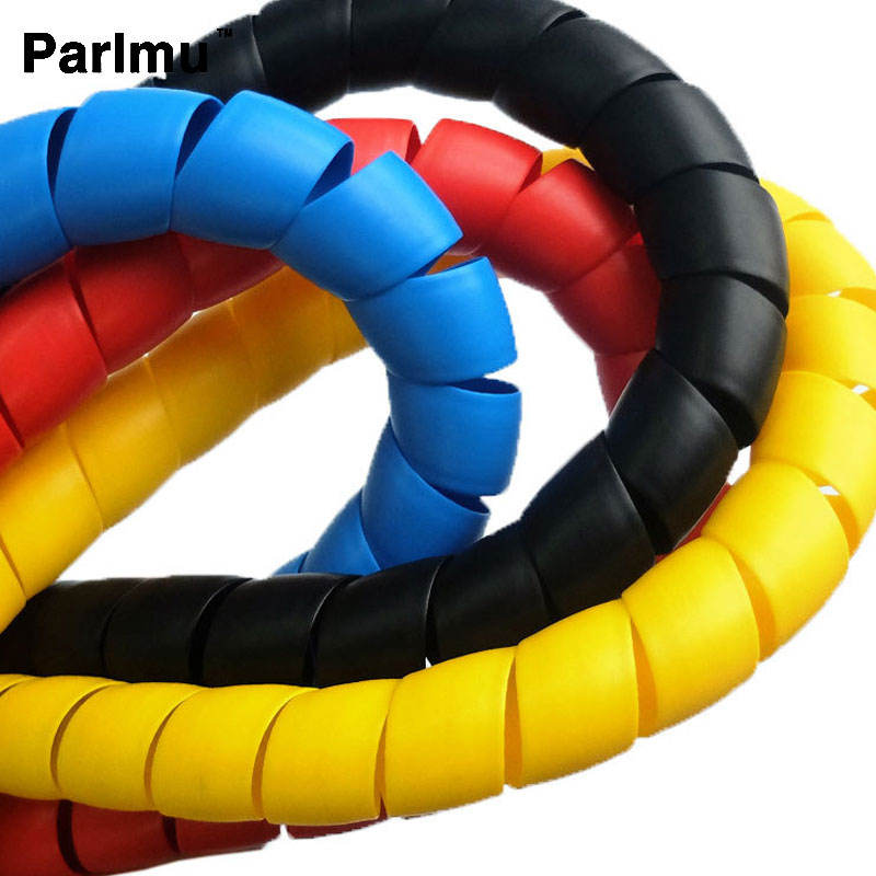 China manufacturer competitive price PP plastic spiral protective hose sleeve