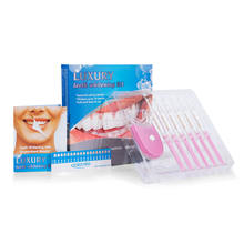 Hot products for united states 2020 High Quality PAP Tooth Whitening gel 8 Bulbs Pink Led Light Home Teeth Whitening Kit