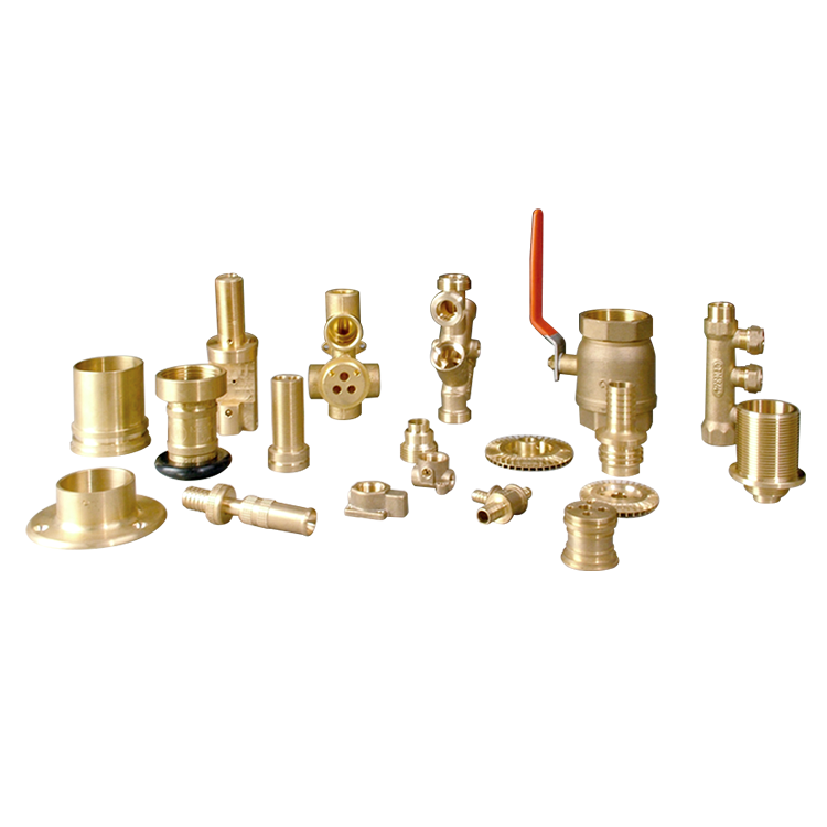 Stone PED customized turning mould brass hot forging parts