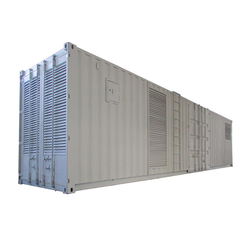 Container type 1.2MW diesel generator set powered by perkins engine