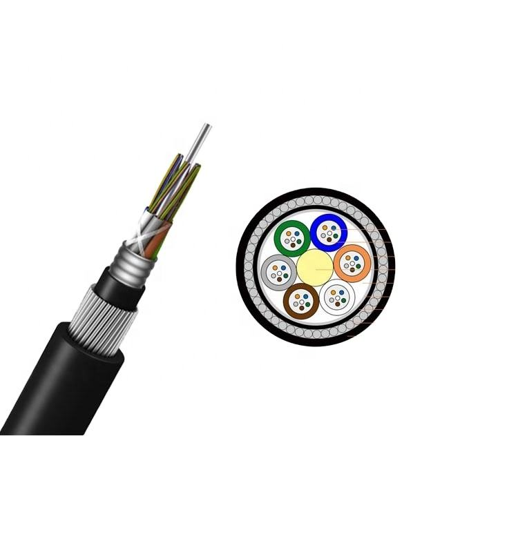 anti rodent armored 4f single mode corning os2 12 64 48 yofc submarine fiber optic cable price per meter