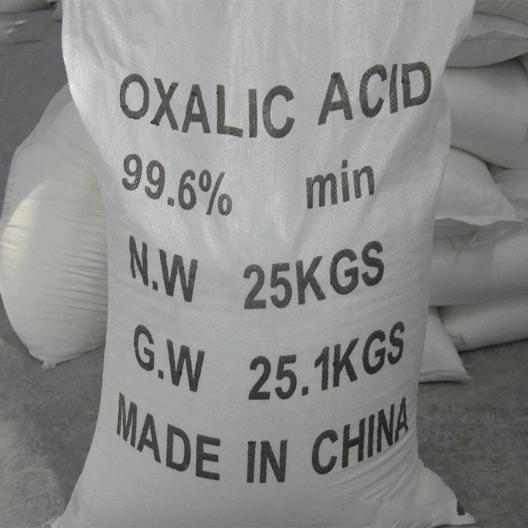 Low price High quality Industrial grade Refined Oxalic Acid 99.6%