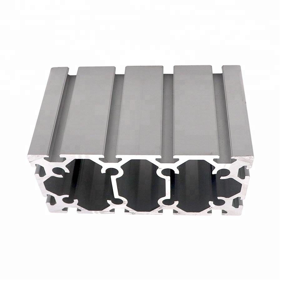 100x200 Heavy Duty Anodized Industrial Aluminum Extrusion Profile China Manufacturer