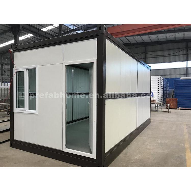 OEM plegable casas prefabricadas contenedor de envío Oficina en alquiler
