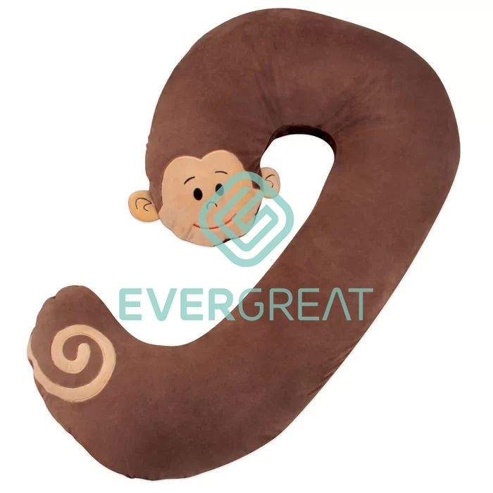 Fashion Design Popular Neck Pillow Very Cute Soft Plush Animal Shape Body Pillow fabric for winter home decor pillow