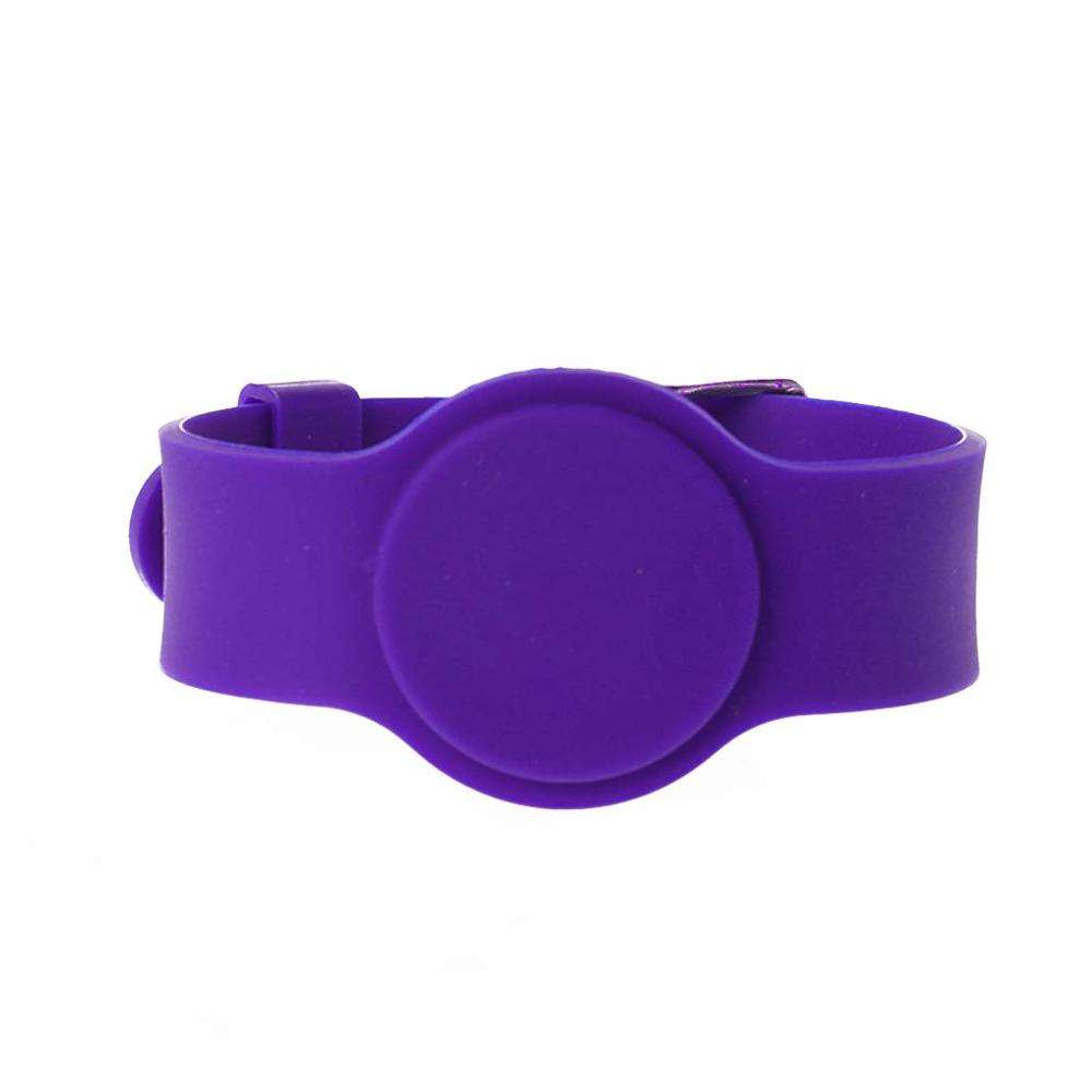 SY Adjustable Passive RFID Wristband Price Silicone RFID Wristband / Bracelet NFC Waterproof Smart RFID Band