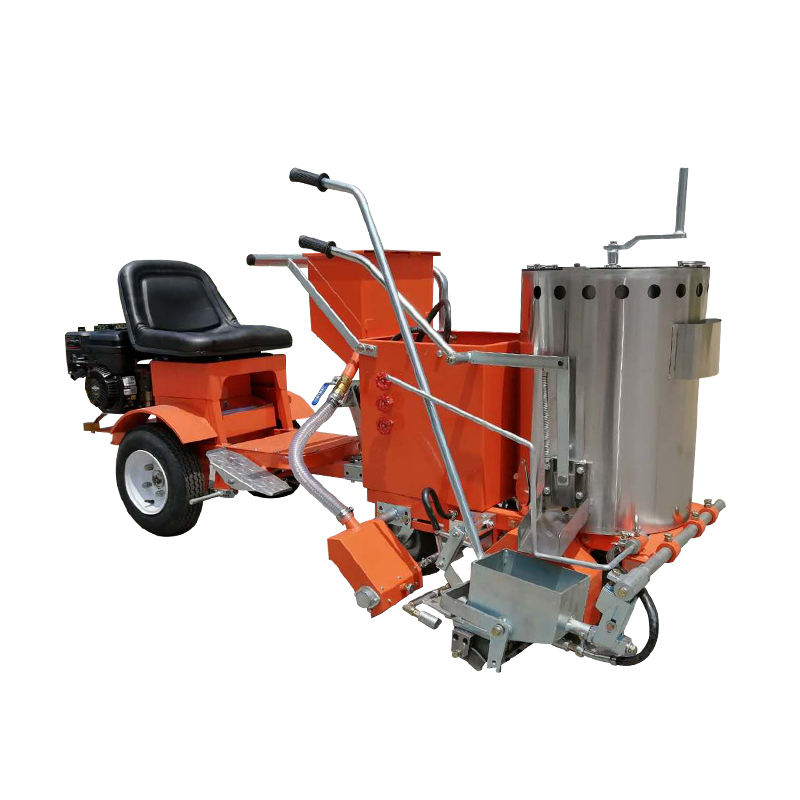 Hongda Engine Walk-up Cold Spray Automatic Cold Paint And Thermoplastic Road Marking Machines Price For Sale