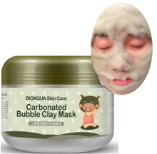 Black Pig Carbonated Bubble Face Mask Clay Facial Mask Deep Pore Clean Whitening Skin Moisturizer Anti Aging Skin Care