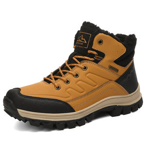 RTS Large size US 5-13 men's hiking shoes winter warm plus velvet casual outdoor shoes