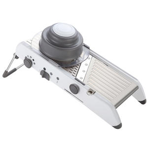 stainless steel manual mandoline chopper slicer julienne peeler vegetable dicer cutter