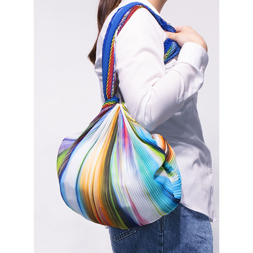 Wholesale fashionable personalized foldable polyester shopping bag