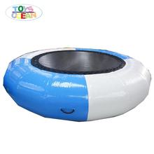 Floating Water Park Toy Jumping Inflatable Water Trampoline for lake or sea play