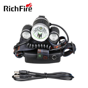4 Modes LED Head Torch Rechargeable Waterproof Focus Headlight T6 LED Headlamp Flashlight Torch for Camping Hunting