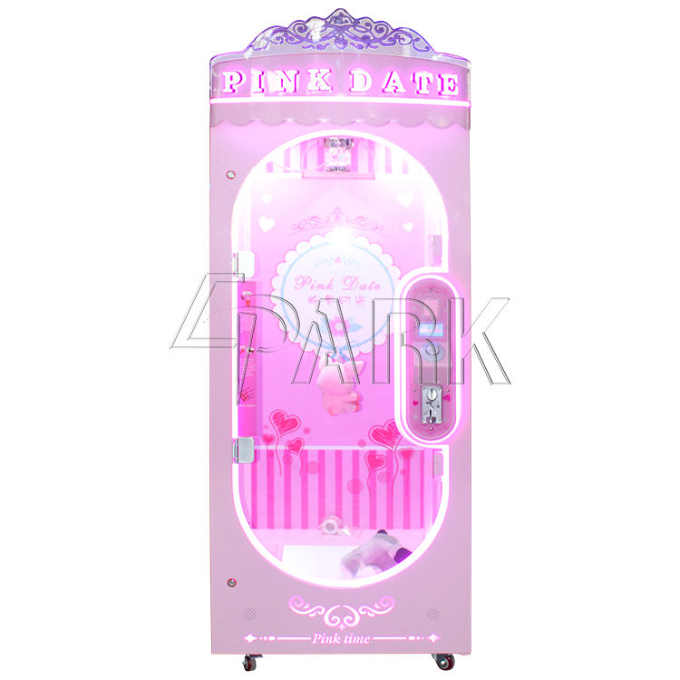 toy game EPARK wholesale popular scissor game vending machine Pink Date Cut Prize coin operated machines