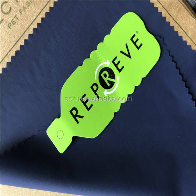 Eco-friendly recycled polyester 100% RPET oxford fabric for tent