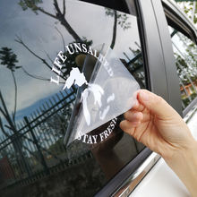 Outdoor Weatherproof Vinyl Color no fading Transfer Glass Window Cut Out Custom Logo Decal, Car Window Stickers