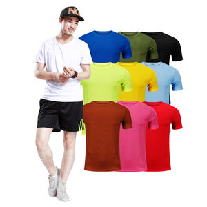 100% polyester dye sublimation custom printing t shirt for Advertising and promotion gifts
