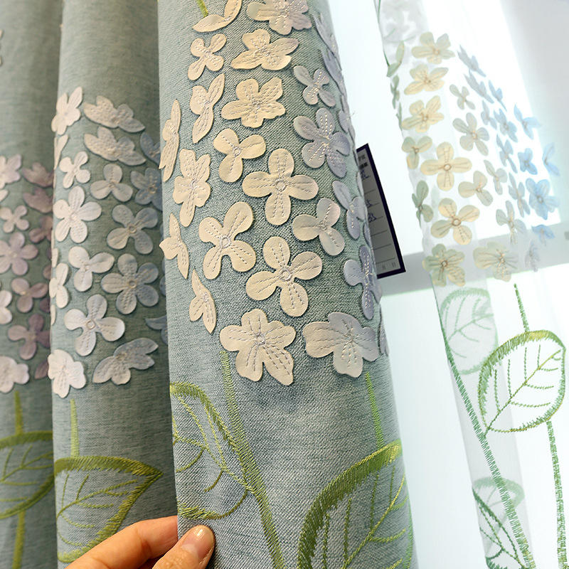 Latest designs china textiles polyester fabric home window curtain hotel room blackout curtain