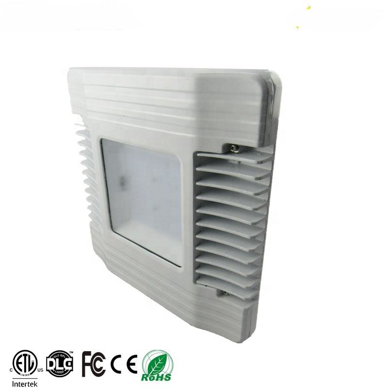 High Quality outdoor waterproof 100-277V 347V led canopy light led lights 100W mean-well driver for gas station