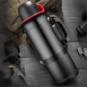 3L 4L Sports Bottle Outdoor Large-capacity Travel 4L Home Thermos Car Bottle Stainless Steel Thermal Cups Pots