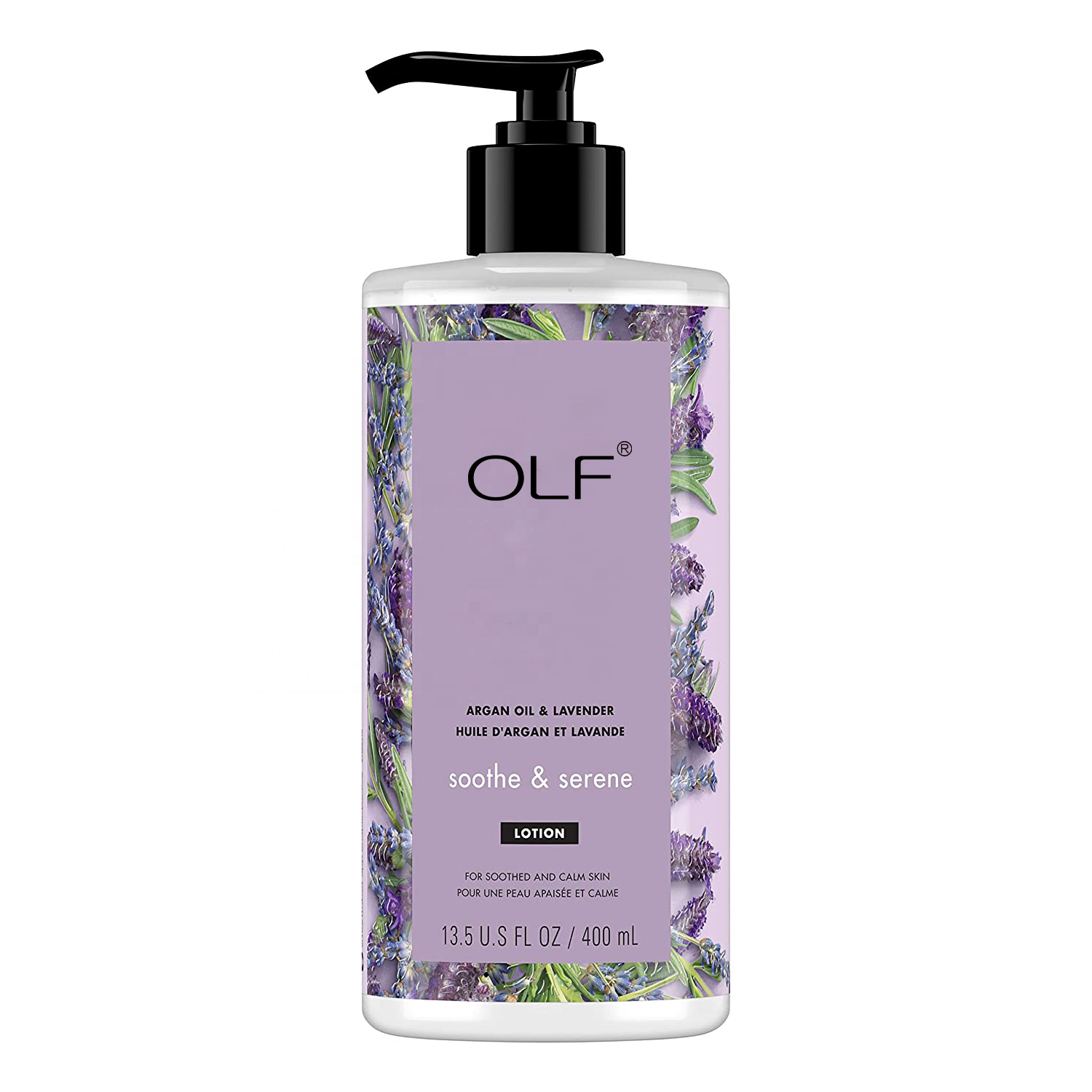 Private Label Body Lotion Argan Oil and Lavender