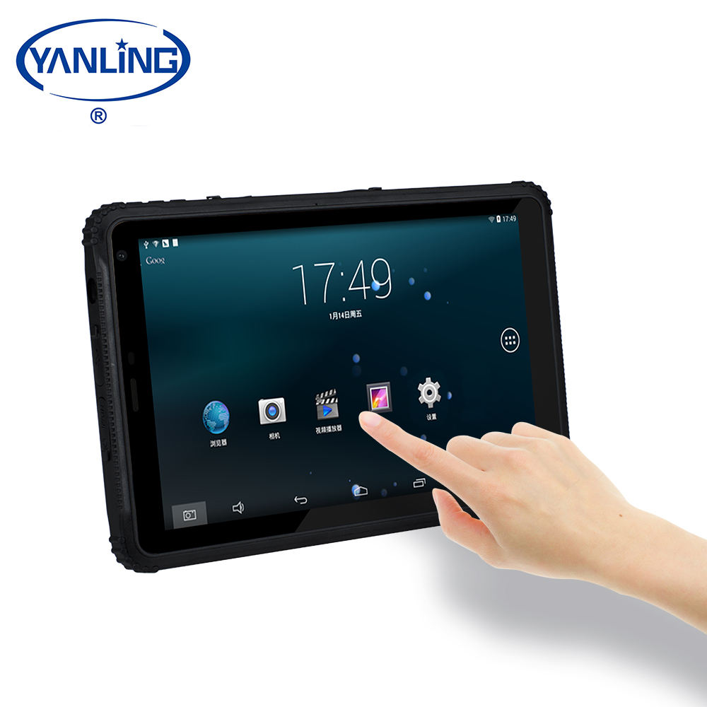 New 10.1 Inch Rugged Android Tablet PC 2GB 16GB Wifi 3G 4G lte Quad Core tablets mini pc with battery