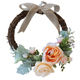 Clamp wreath new in 2020 style arriving outdoor home party foam decoration flower wreath ring door wreath cn shn