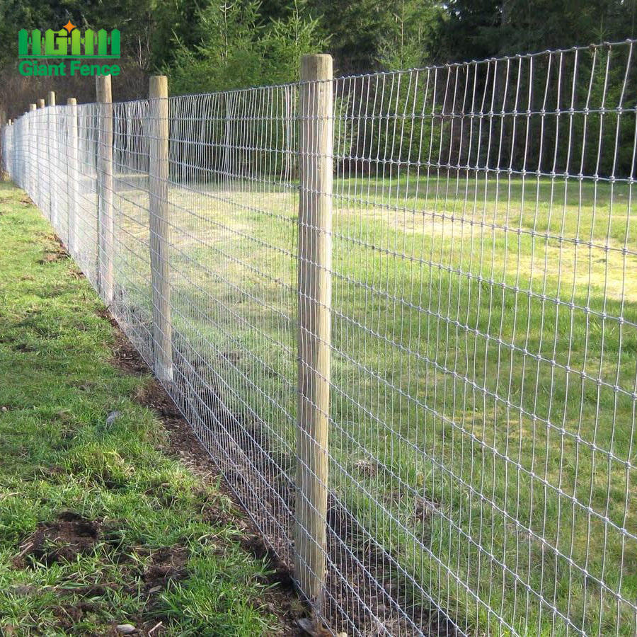 One-Stop Service Cheap Wire Fence Factory Suppliers Cheap Wire Mesh Roll Deer Field Farm Fence