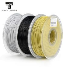 Two trees lightproof flexible plastic rods 3d printer 1kg  roll pegt 1.75mm filament