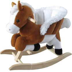 2018 hot sales Plush Jumping horse with real horse and golloping sound