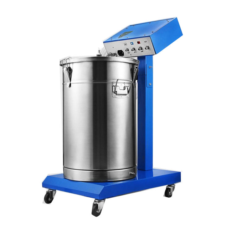 Powder Coating Machine 50W 45L Capacity Electrostatic Powder Coating System Spraying Gun