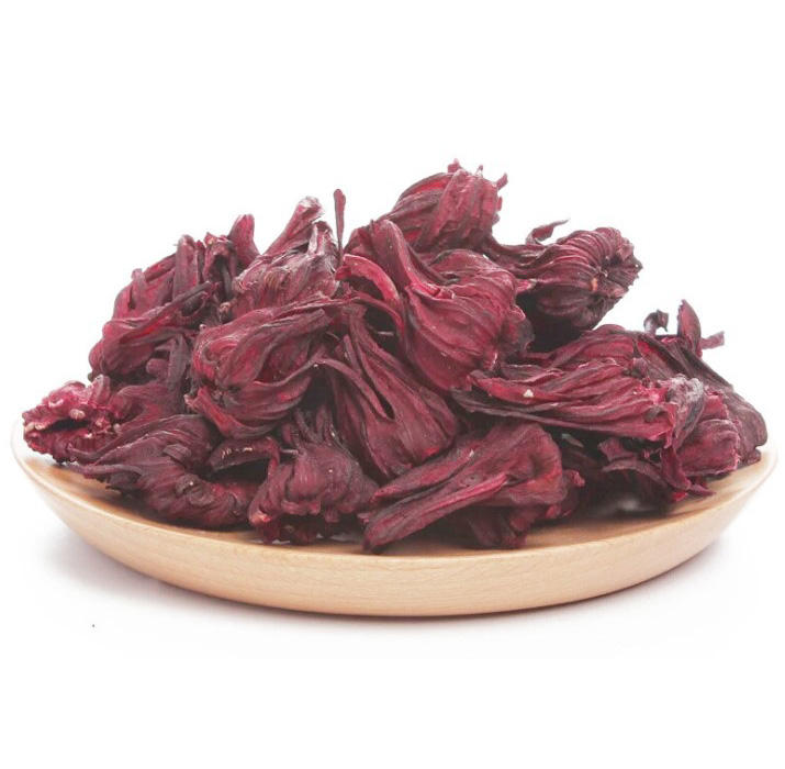 Organic dried hibiscus flowers cut & sifted 100% natural hibiscus tea bulk bag