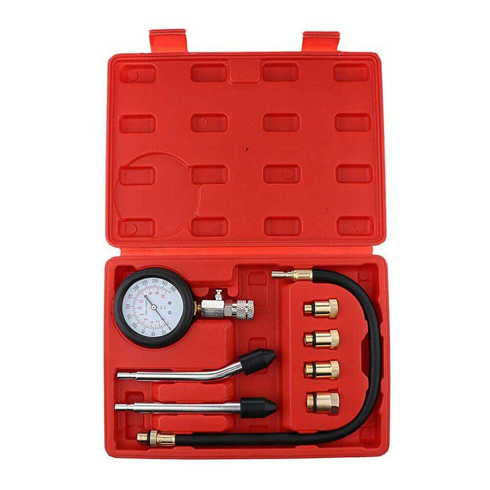 Universal Diagnostic Tools Diesel Automotive Cilinder Manometer Compressie Tester Kit