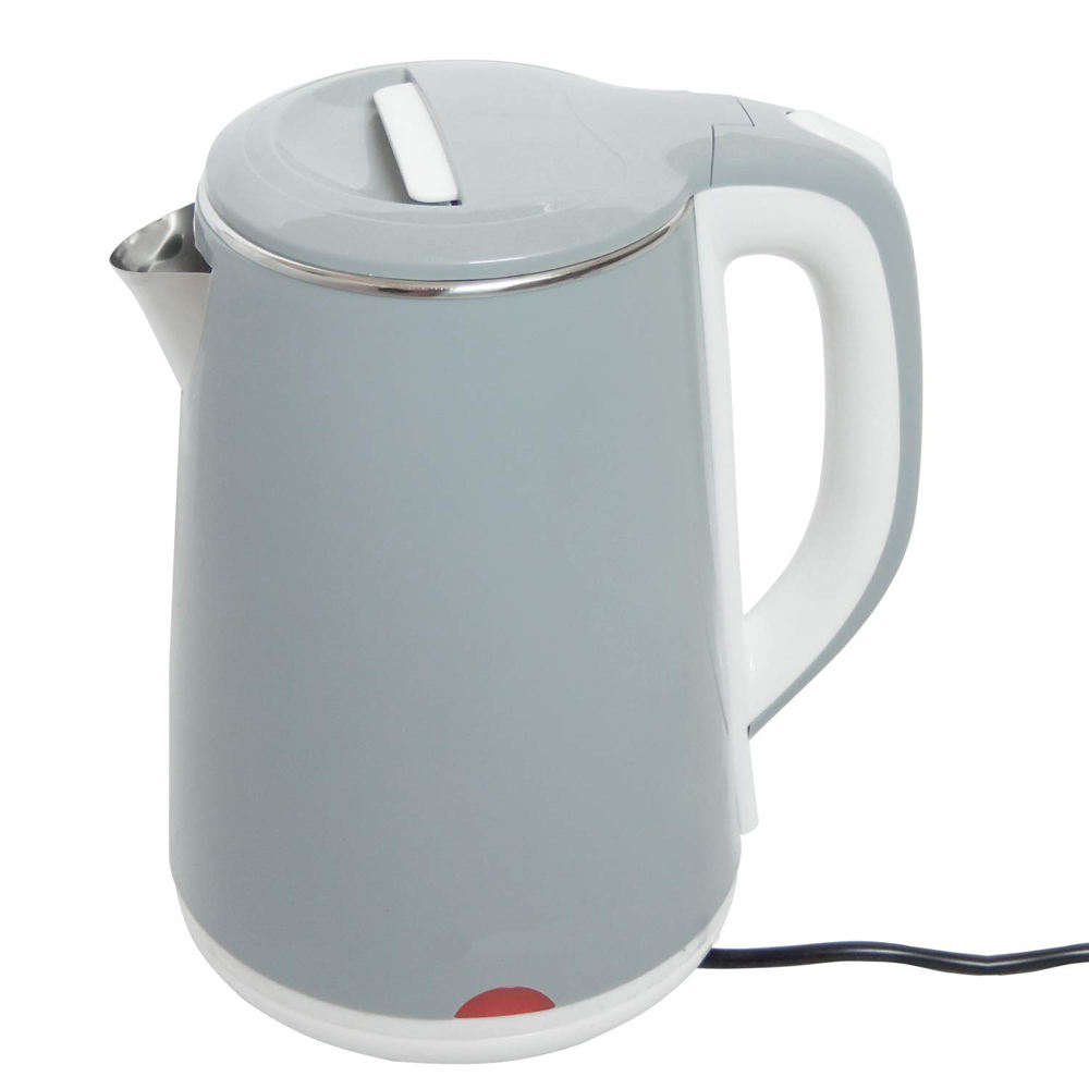 vasta Factory supplying 2.2L Small Home Appliances double wall PLASTIC COVERED Stainless Steel electric water Kettle