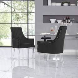 Lucite acrylic chair legs for furniture